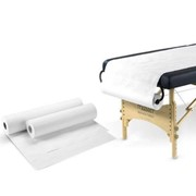 6 ROLLS | Bed Cover Roll Sheet Medical Table Cover 59 cm x50 M | WHITE