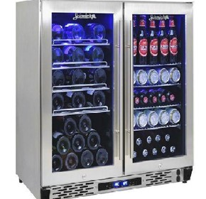 Schmick Twin Zone Alfresco Beer And Wine Bar Fridge JC190-GG