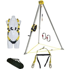 Confined Space Kit w/ 20m Stainless Steel Cable Winch