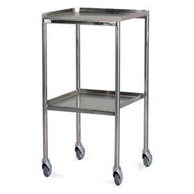 Stainless Steel Flat Top Trolley - No Rails
