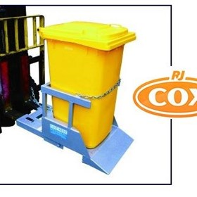 NWB Wheelie Bin Tipper/Lifter -Wheelie Bin Emptier for Forklifts