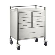 Anaesthesia Cart | S/S 7 Drawers 75x50x97cm