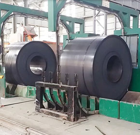 Automatic Steel Strapping Machine - Seal Joint Pickled Coil Bundling