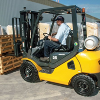 Komatsu BX Series Forklift Wins Highest Retained Value Forklift Award