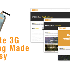 New website launched: SPOKEdata Remote 3G Monitoring