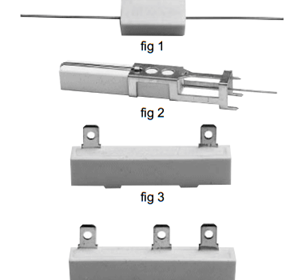 Flameproof Cement Resistors for speed control, ovens, dryers, heaters