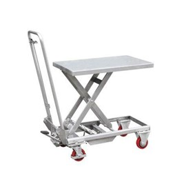 397A Aluminium Hydraulic Lift Table, 100kg 450 x 700mm