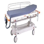 Active pressure care for mobile patient trolleys