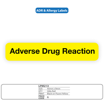 "Medical Identification Labels for ""Adverse Drug Reaction"