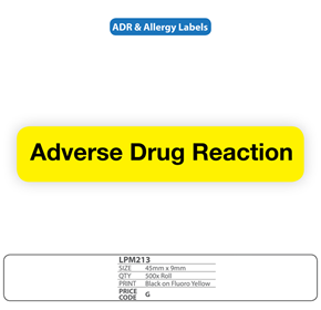 "Medical Labels for ""Adverse Drug Reaction"
