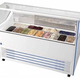 13 Tub Gelato Display Freezer | DELIGHT13