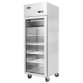Upright Glass Door Freezer | MCF8604 – Single Door 670 Liters