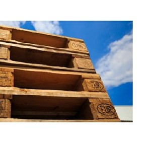 Wooden Pallets - 4 Way Entry Pallets