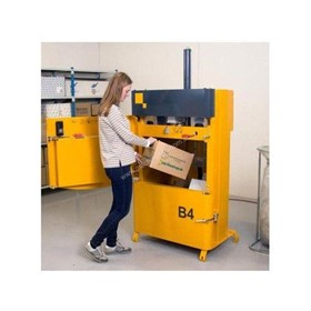 Bramidan B4 Vertical Baler | Great for Cardboard & Plastic