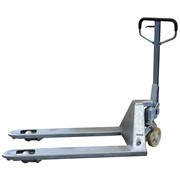 Pallet Truck, Galvanised - 685mm with Pallet Jack