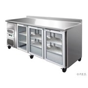 Three Door Bar Fridge | FED CM20G