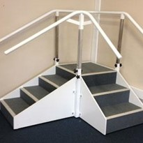 Deluxe Exercise Stairs, Corner Stairs, VSR22
