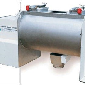 Horizontal Helical Blade Mixer