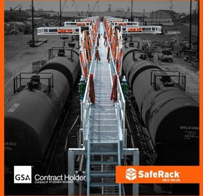 SafeRack introduces the GX loading gangway