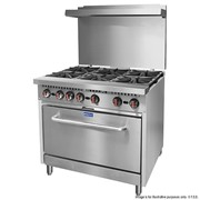 Gas Cooktops | Gasmax 6 Burner