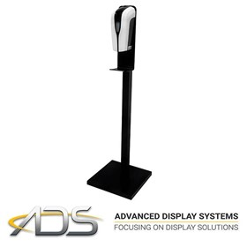 ADS | Hand Sanitiser Floor Stand (Includes Automatic Dispenser)