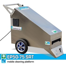 SRT Mobile Food Plant Cleaning Platform