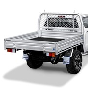Dual or Extra Cab Alloy UTE Tray | L 2035 x W 1855mm - Deluxe
