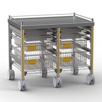 STERIRACK™ Trolley 600D Double