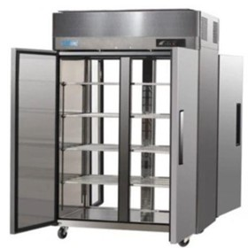 Austune Pass Through Solid Doors Upright Fridge - AM-50RPT