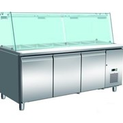 Thermocool 3 Door Salad Noodle Bar - 635L