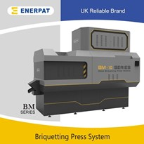 UK Enerpat Aluminum Metal Chips Briquette Press Machine