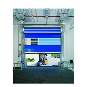 STR High Speed Efaflex Spiral PVC Door