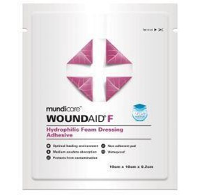 mundicare® Woundaid® Adhesive Foam Dressings (F)