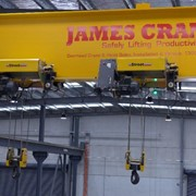 James Crane | Custom Single Girder Overhead Cranes