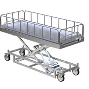 Paragon Hi Low Mortuary / Concealment Trolley | AX 704
