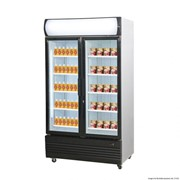 F.E.D Thermaster Double Glass Door 1000L Combined Fridge & Freezer