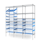 Combination Storage & Shelving System | Nimble 60-40