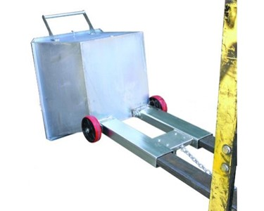 CFS Fork Skip Tipping Bin  are designed for manual push over.