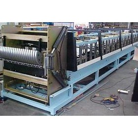 Custom Built Rollforming Machine | Window Well Former