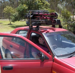 Roof Mounted Wheelchair Hoist for Cars | Wymo