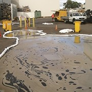 The three Cs of managing oil spills on roads or hard surfaces