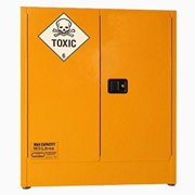 Toxic Substance Storage Cabinet | 160 Litre 2-Door BCTSS160L