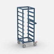Meal Trolley  Food Service Single Bay 7 x Tray