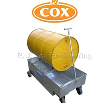 Steel Drum Spill Bin Trolley | DTB1 | R.J. Cox Engineering