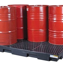 Drum Bunds | Polyethylene Low Profile Six 250L Drums