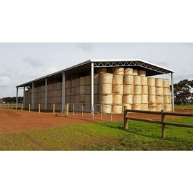 Roof Only Hay Shed | 15m x 40m x 6m