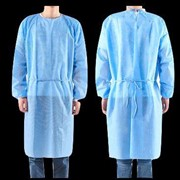 Isolation Gown PP+PE 10/Pkt