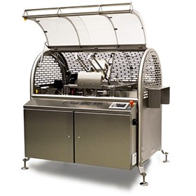 Food Tray Sleeving Machine | Schut Systems | ASM60