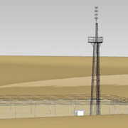 Australian Radio Towers | 3 Legged Lattice Towers | FSLT
