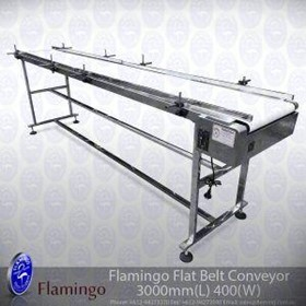Flamingo Flat Belt Conveyor Wide | EFCF-400-3000